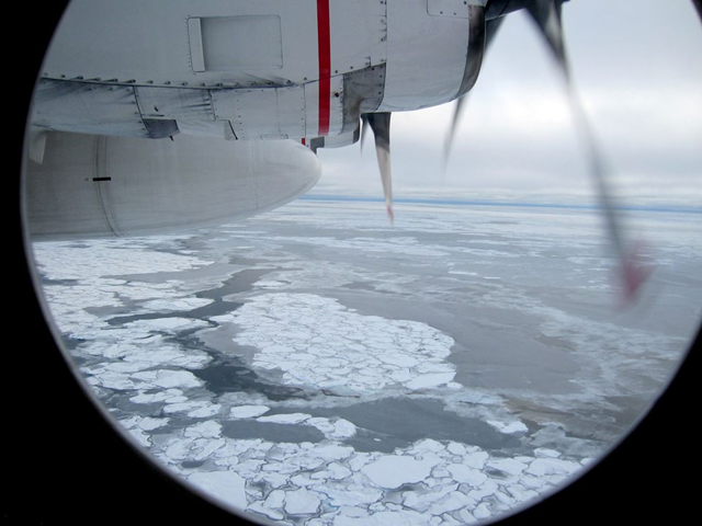 Broken sea ice dots the Arctic Ocean in this image from 2009. Photo: Yereth Rosen / Reuters