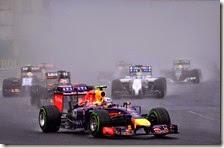 Ricciardo vince il gran premio d'Ungheria 2014