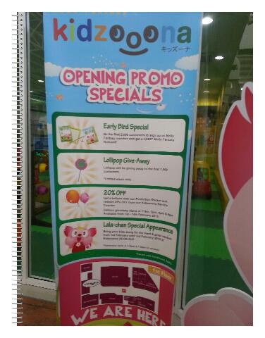Kidzooona Mini - Pusat Permainan Kanak-Kanak