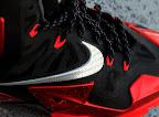 nike lebron 11 gr black red 8 15 New Photos // Nike LeBron XI Miami Heat (616175 001)