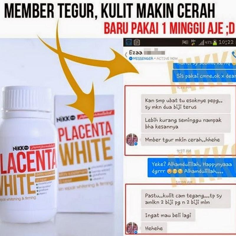 harga placenta white