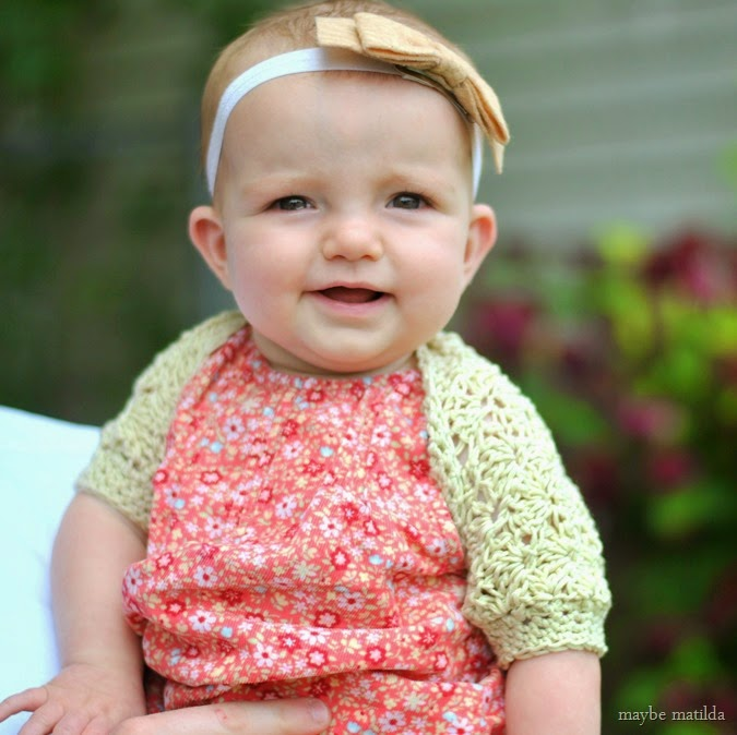 Darcy's Vintage Shell Shrug -- free crochet pattern, adaptable to any size!
