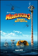 Madagascar 3 - Europe's Most Wanted - poster