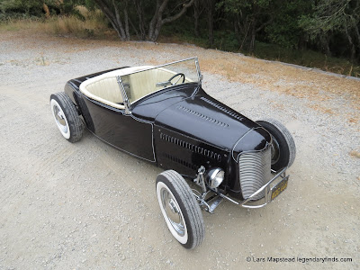 Dry Lakes racer, oakland Roadster show car, Build Pics