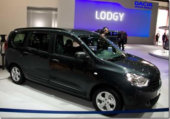 Dacia Lodgy Autosalon Geneve 2012 11