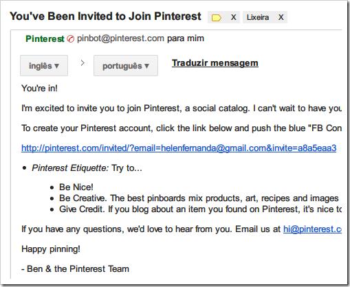 Join Pinterest