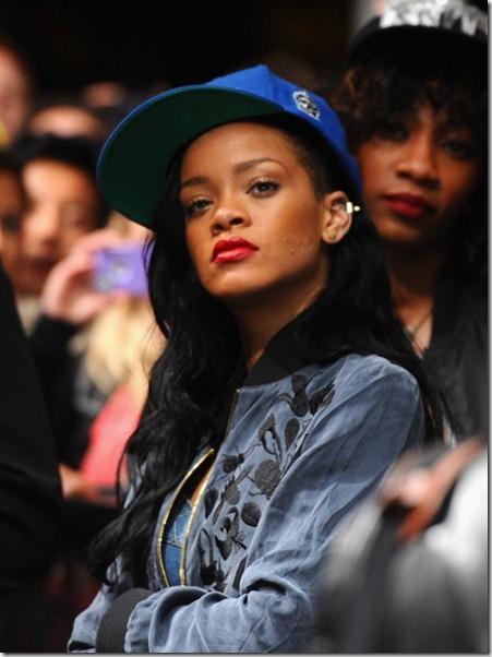 Rihanna attends David Guetta