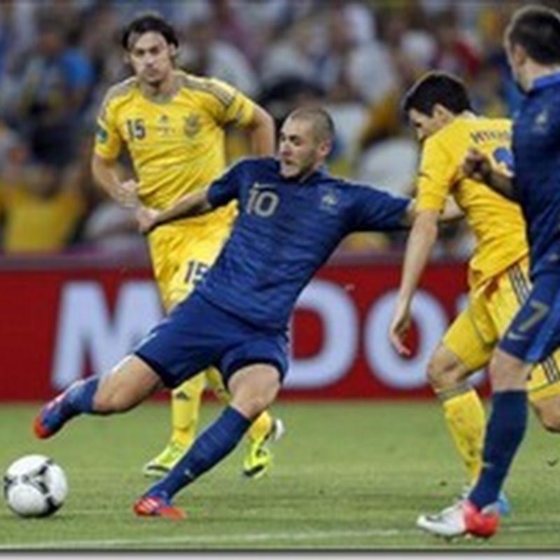 Formaciones de Suecia vs Francia