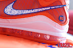 nike air max lebron 7 pe hardwood orange 4 01 Yet Another Hardwood Classic / New York Knicks Nike LeBron VII