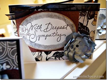 Sympathy Card Sizzix