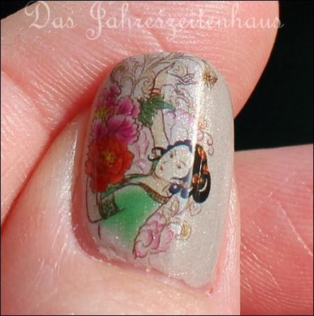 Geisha Nail Art 3