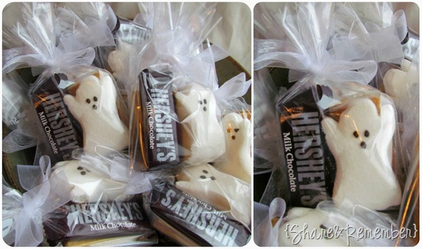 Boo! Ghost Smores