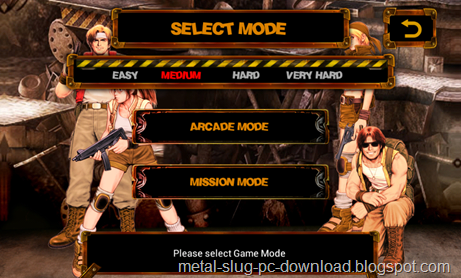 Free Download [Android] Metal Slug X v1.0 Android APK Games (English)