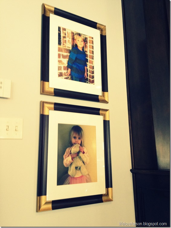 gold corner frame 7