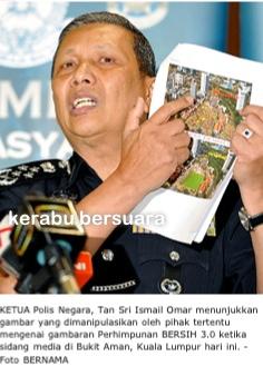 Ketua Polis Negara Ditipu Dengan Gambar Ini. Kesian!