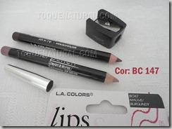 La Colors Kit 2 Lapis Labial   Apontador - Cor BC147
