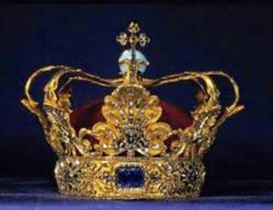 Corona de Cristian V Dinamarca