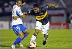 Nacional de Uruguay y Boca Juniors de Argentina