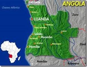 Angola Mapa Cidades