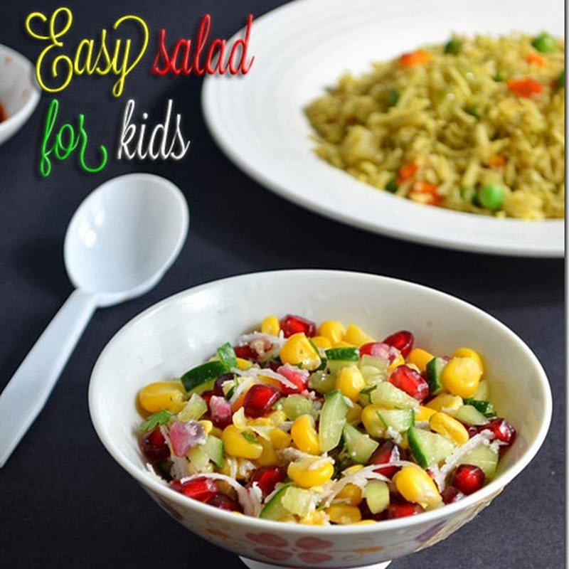 EASY SALAD RECIPE FOR KIDS