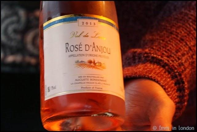 Val de loire Rose d'Anjou
