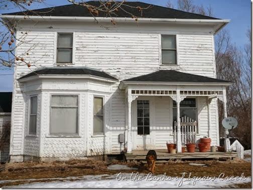 farmhouse before