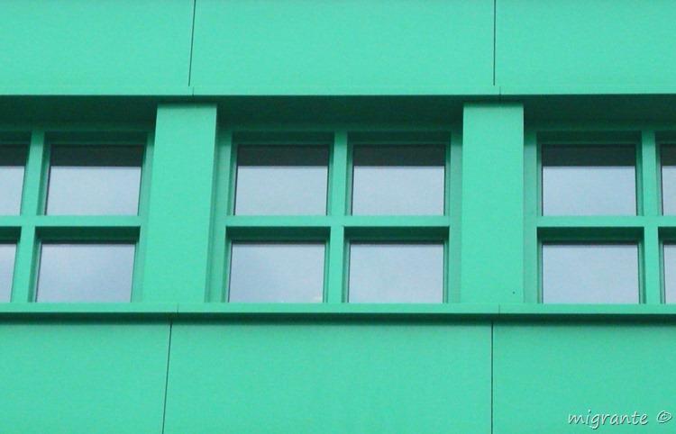 detalle ventana - aldo rossi en berlin