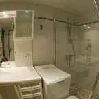 Salle d'eau 1er étage chalet L'Orée du Bois - Location - Les Carroz