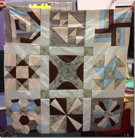student quilt