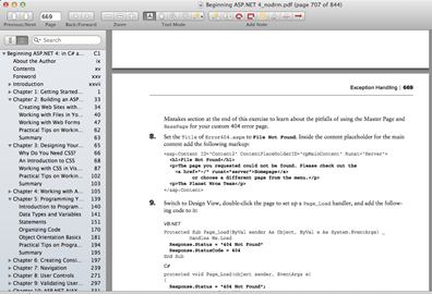 Free Skim PDF Reader for Mac