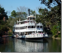 Steamboat Willie at Disney