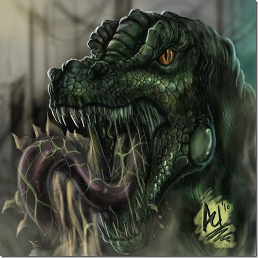 El Lagartom, Lizard,  Dr. Curt Connors (34)