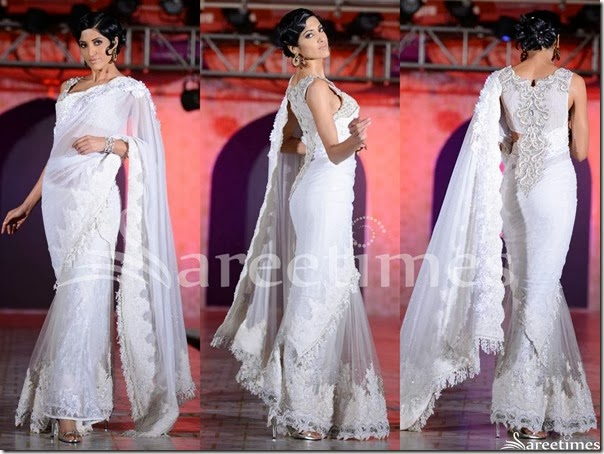 Rohit_Verma_White_Saree