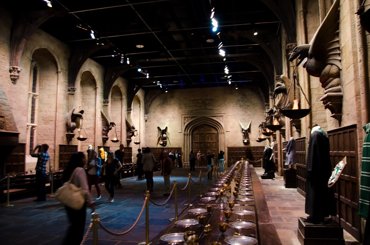 Hogwarts Great Hall Studio Tour