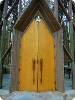 Beautiful Chapel doors