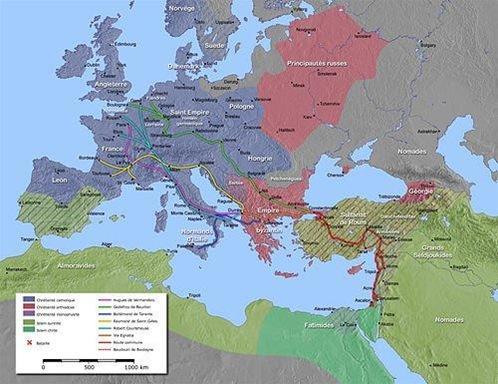 mapa dels templers