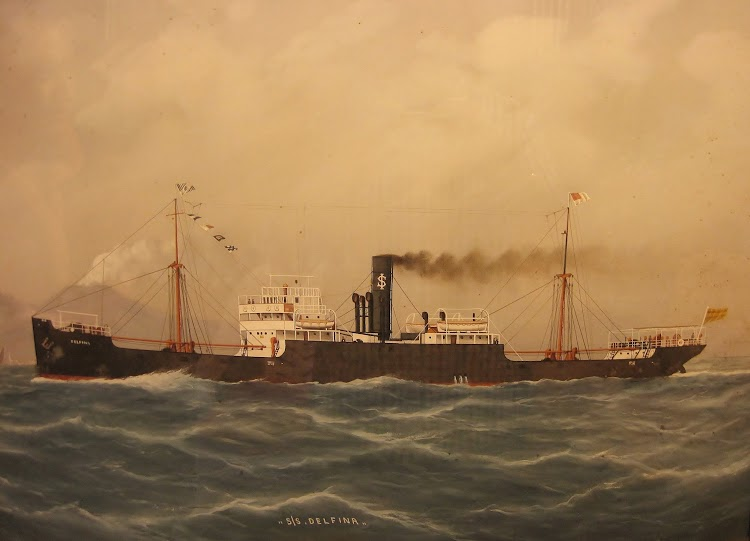 El cuadro, sin firma de autor, es propiedad de María Isabel Basterrechea Zabalza, lo compró su abuelo, marino de profesión, en Italia aunque no navegó en ese buque. Remitido por Juan Mª Rekalde. Nuestro agradecimiento.JPG