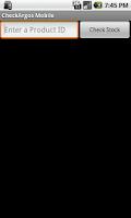 Screenshot of CheckArgos Mobile