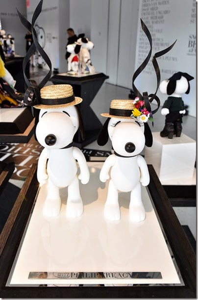 Peanuts X Metlife - Snoopy and Belle in Fashion Exhibition Presentation (Source - Slaven Vlasic - Getty Images North America) 20