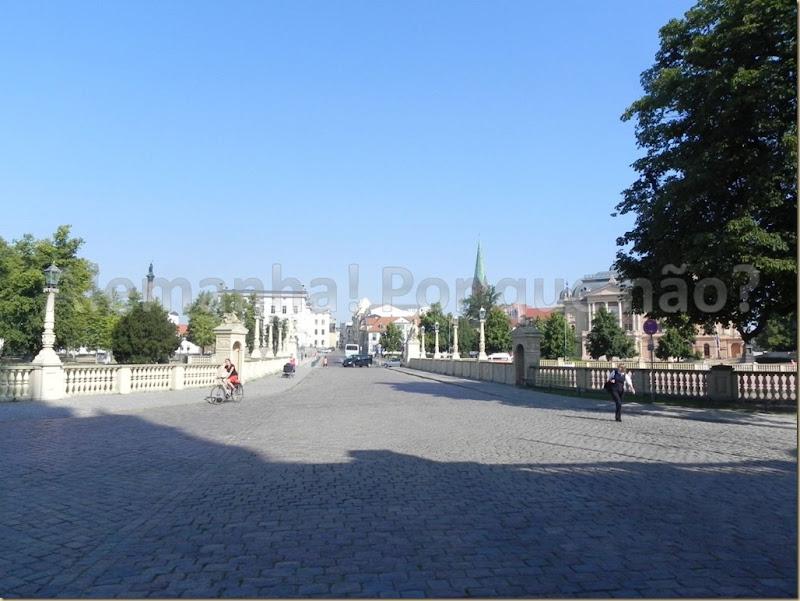 O Alter Garten e a entrada para o Palácio