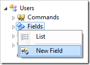 Creating a new field in Users controller.