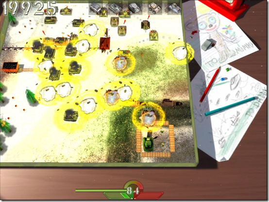 Destroy your enemy driving a tank and defend your headquarters!