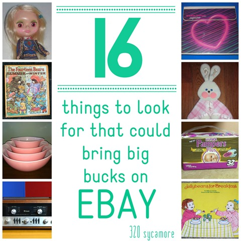 16 things to look for that could bring big bucks on Ebay