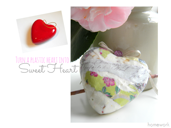 Blog Decoupage Heart