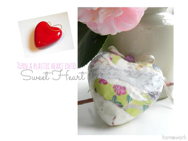 Blog Decoupage Heart