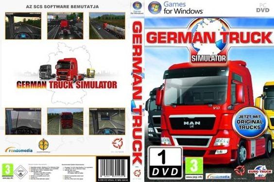 Juegos de Camiones PC German Truck Simulator