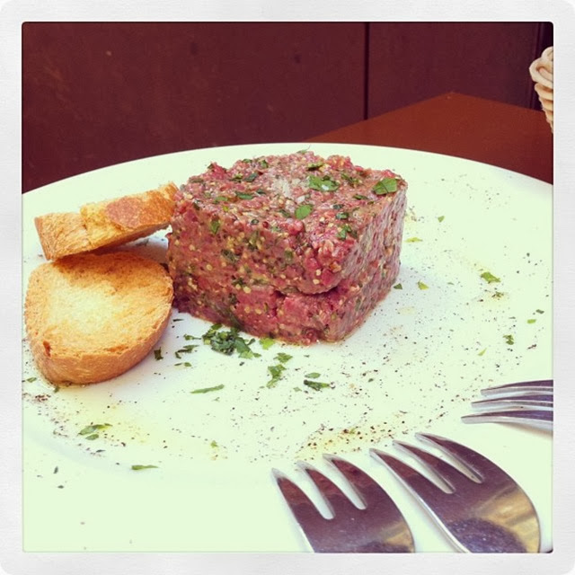 BLASÓN DEL TUBO - STEAK TARTARE
