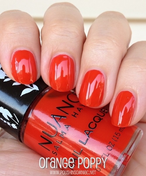 Nuance Salma Hayek Orange Poppy