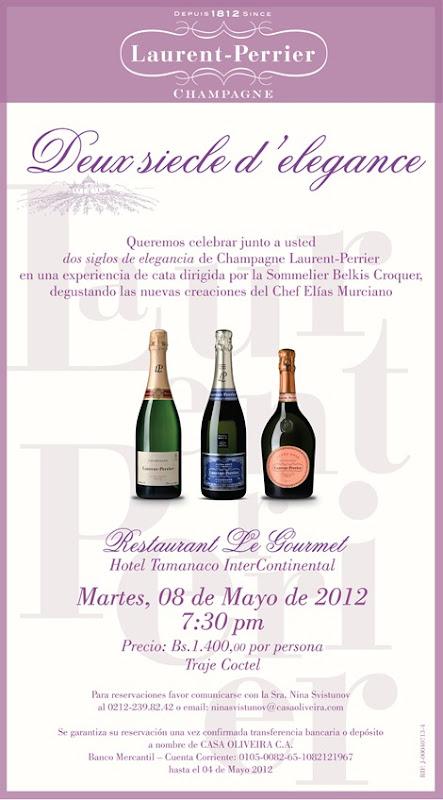 Cena Sensorial Le Gourmet 08 de Mayo