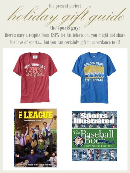 2012.12.04 - Holiday Gift Guide - The Sports GUy